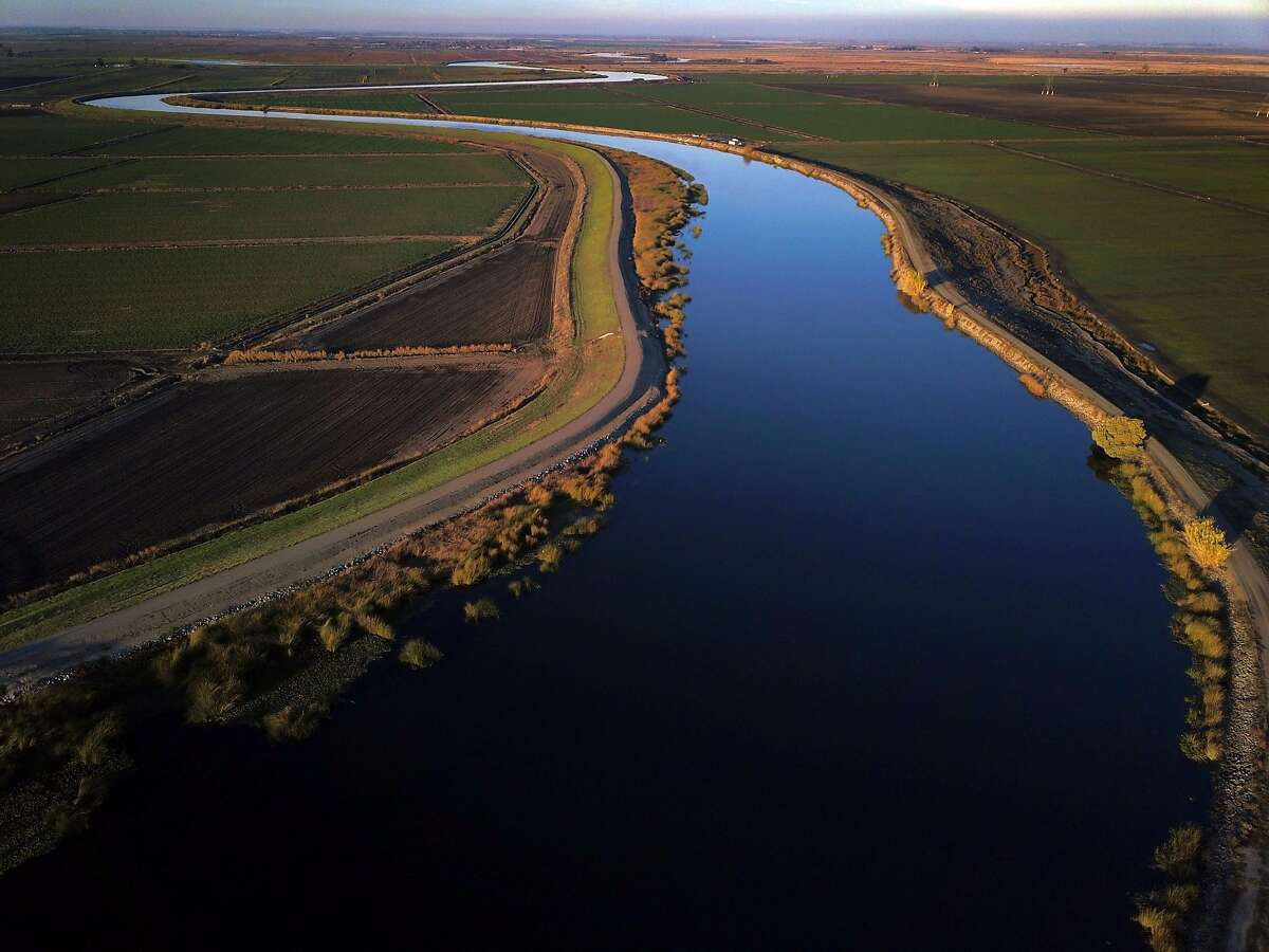 Old River runs through farmland in the Sacramento-San Joaquin Delta outside Discovery Bay, Calif., on Tuesday, December 11, 2018. On Wednesday, the Legislature is expected to vote on a massive water bill which could decide the fate of the state's water, pitting environmentalists and sportsmen against farmers and city dwellers. No matter how the vote goes, someone will be unhappy, either the cities and suburbs, or the ranchers/farmers or the environmentalists.