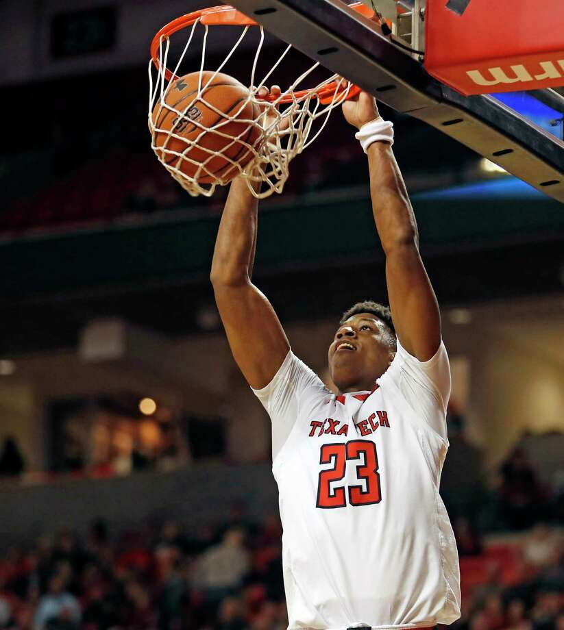 Texas Tech's Jarrett Culver (23) dunks the ball during the second half of an NCAA college basketball game against Northwestern State, Wednesday, Dec. 12, 2018, in Lubbock, Texas. (AP Photo/Brad Tollefson) Photo: Brad Tollefson / FR171432 AP