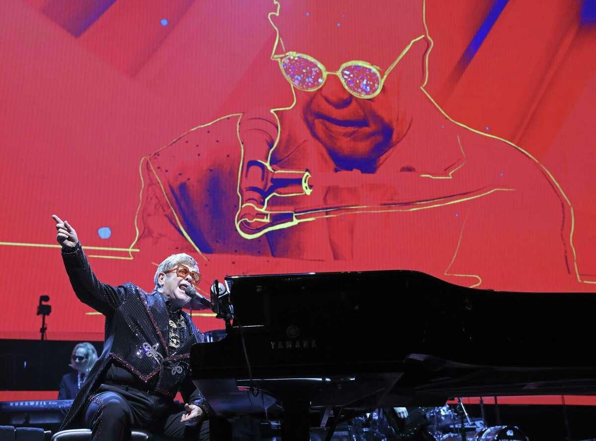 Elton John bid San Antonio fans farewell in December.