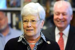 Gov. Nancy Wyman, who is leaving office next month as one of the most popular figures in Democratic politics, emerged Wednesday night as Gov.-elect Ned Lamont's unifying, if surprising, choice to succeed Nick Balletto as chair of the Connecticut Democratic Party.