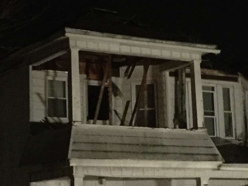 A fire damaged a Rugby Road home early Thursday morning.