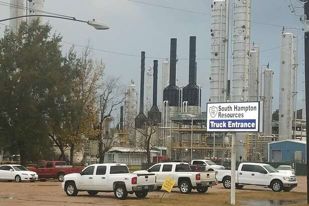 Employees at South Hampton Resources in Silsbee say about 40 people were laid off Thursday, December 13, 2018.