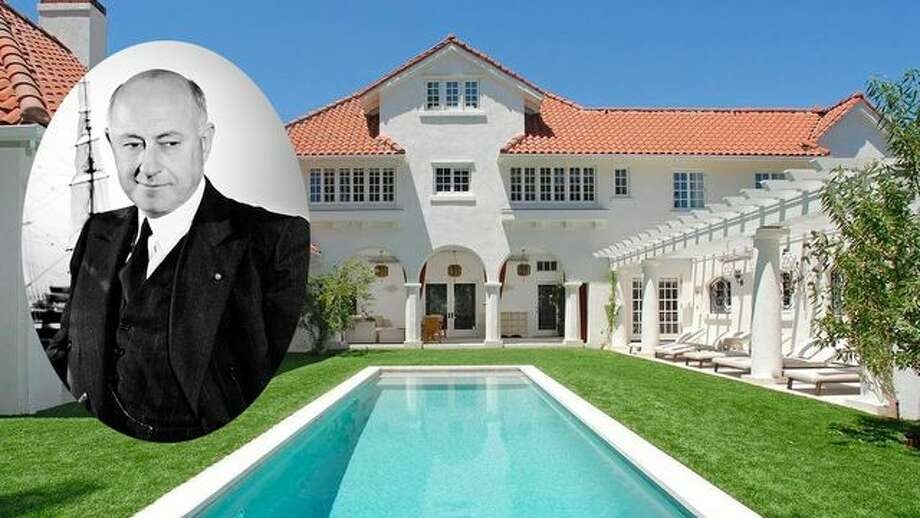 The storied home once owned by legendary filmmaker Cecil B. DeMille has sold for $8.5 million Photo: Silver Screen Collection/Getty Images; Realtor.com