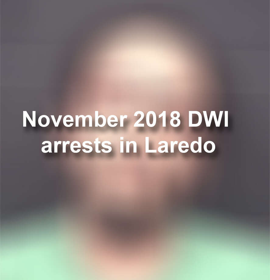 See the 55 mugshots of individuals arrested on DWI charges in Laredo in November.  Photo: Laredo Police Department