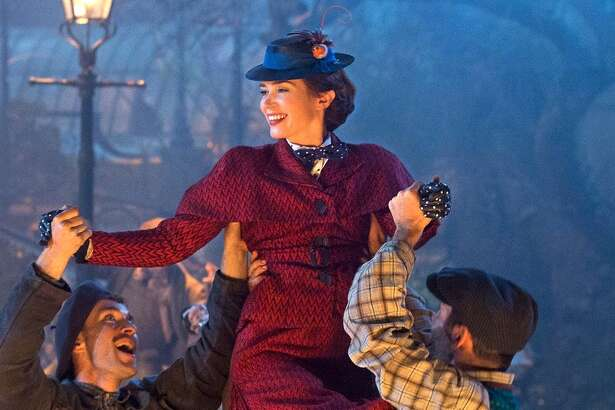 "Emily Blunt in ""Mary Poppins Returns."""