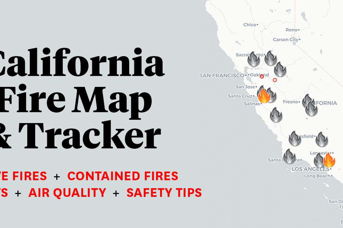 Picture of: California Fire Map Tracking Wildfires Near Me Across Sf Bay Area Silverado Fire Updates And Evacuation Orders