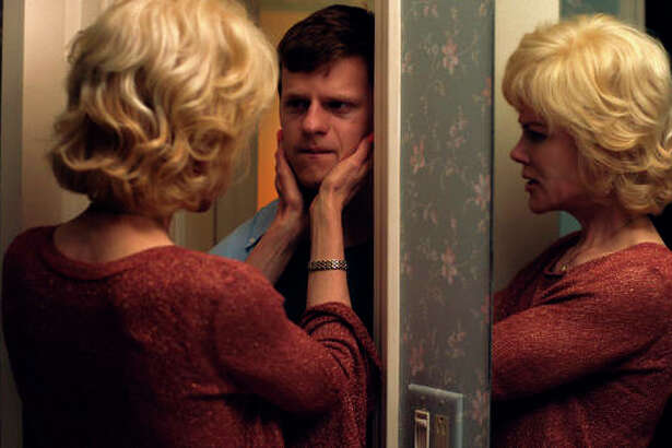 "This image released by Focus Features shows Nicole Kidman, left, and Lucas Hedges in a scene from ""Boy Erased."" On Thursday, Dec. 6, 2018, Hedges was nominated for a Golden Globe award for lead actor in a motion picture drama for his role in the film. The 76th Golden Globe Awards will be held on Sunday, Jan. 6."