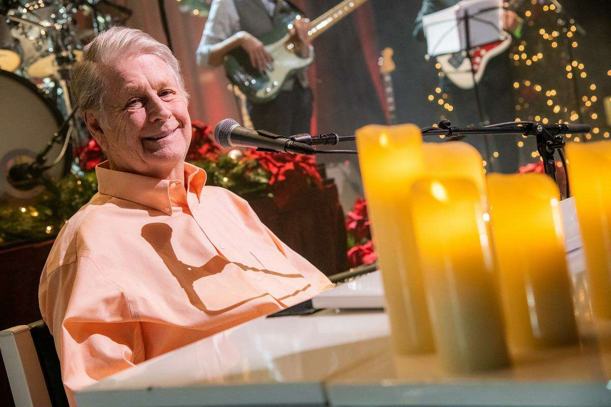 Brian Wilson is bringing the classic Beach Boys Christmas album alive on tour