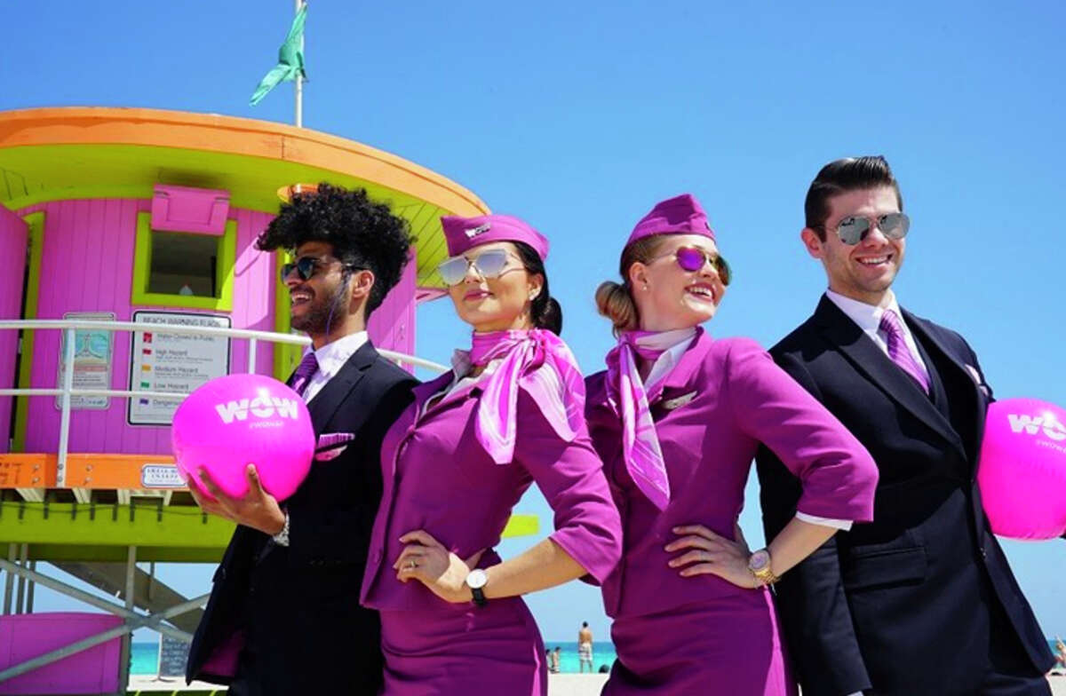 WOW Air is eliminating 10 percent of its workforce as it shrinks operations.