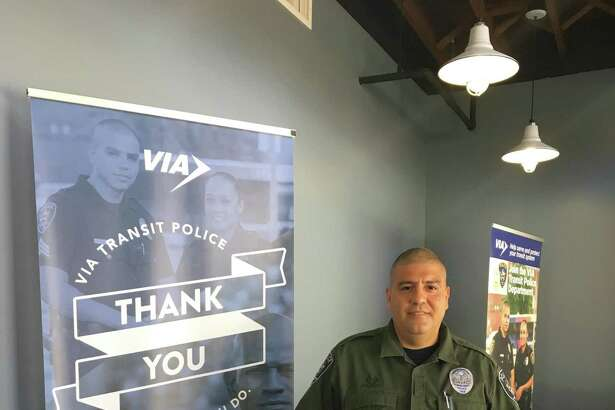 VIA Metro Transit Police Department?'s K9 Rick, shown with his handler will receive a bullet and stab protective vest from the non-profit organization Vested Interest in K9s, Inc. Rick is teamed with Officer Robert Acosta, shown.