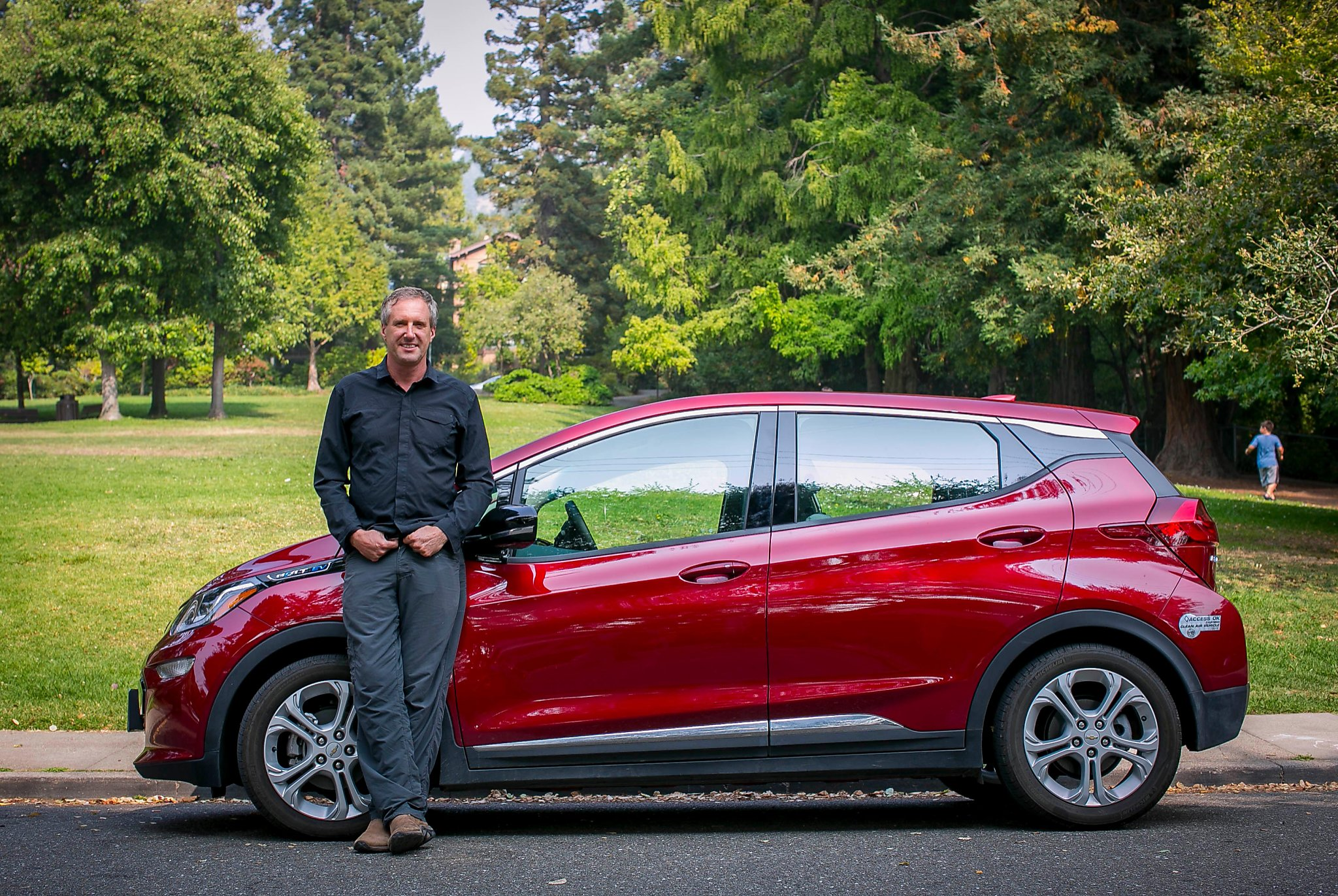 Family man feels 'right at home' in Chevy Bolt