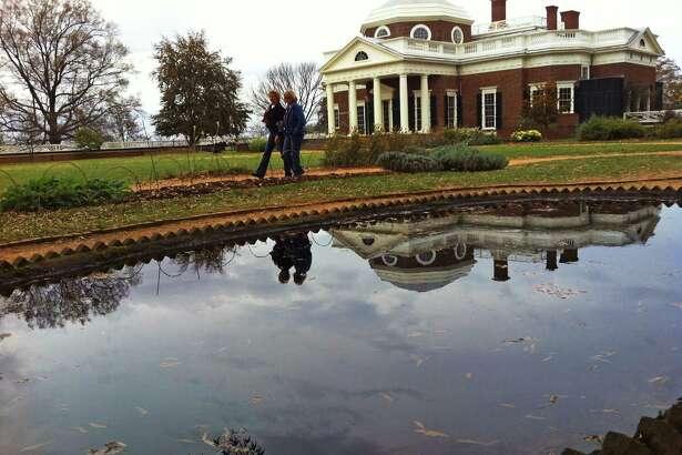 Thomas Jefferson's Monticello.