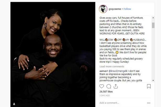 Pastor John Gray gifts his wife, Aventer Gray, a $200,000 Lamborghini Urus.