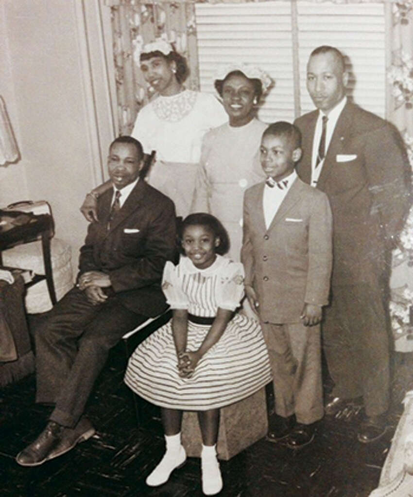 Sen. Andrea Stewart-Cousins as a child with her family in an undated photo.