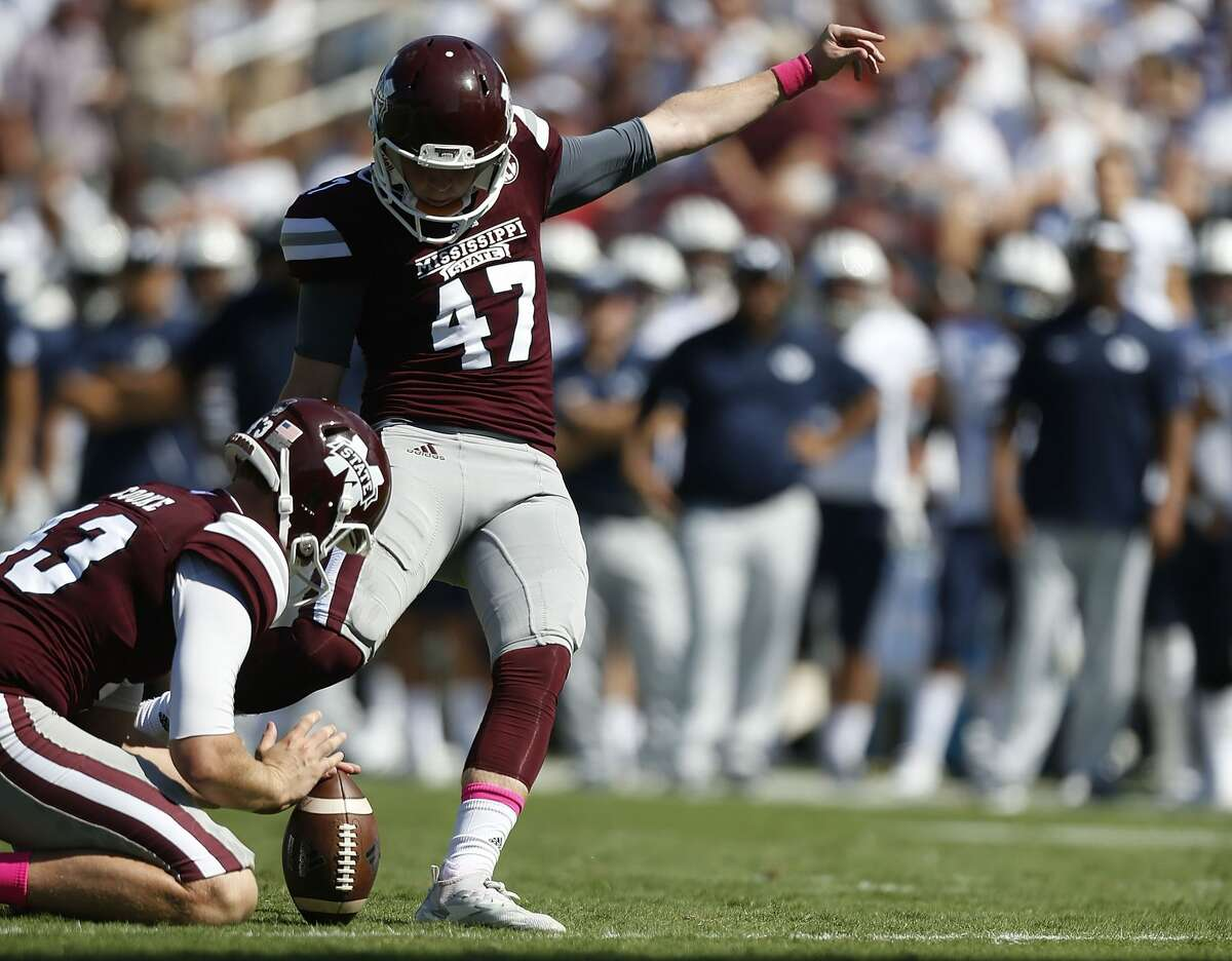Outback Bowl Mississippi State vs. Iowa, 11 a.m. Tuesday, Jan. 1 (ESPN2) Mississippi State Jace Christmann (pictured), sophomore, kicker, Memorial High School Iowa None