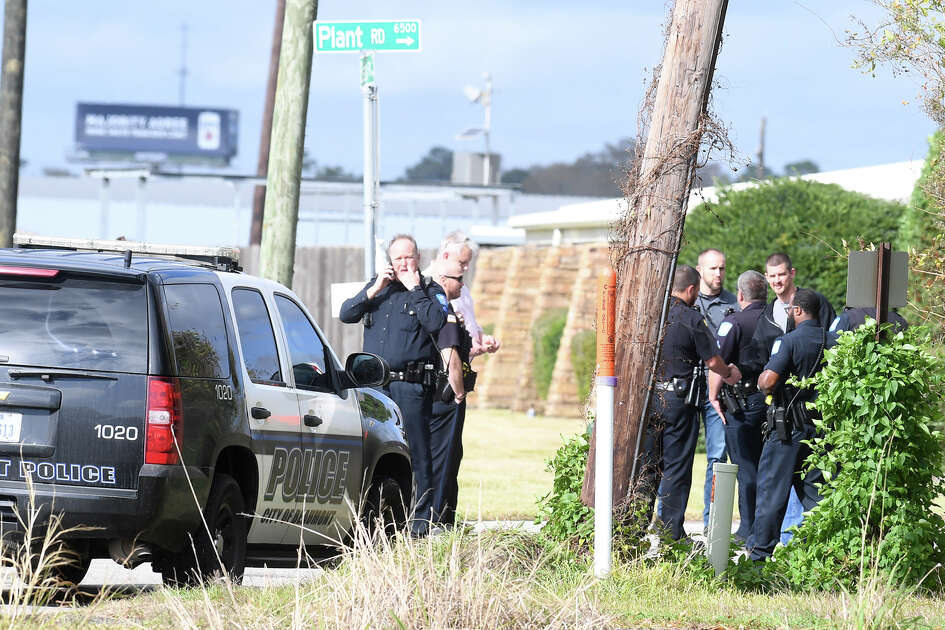 The Lower Neches Valley Authority offices were evacuated Thursday afternoon after a bomb threat was emailed to an employee. Photo taken Thursday, 12/13/18