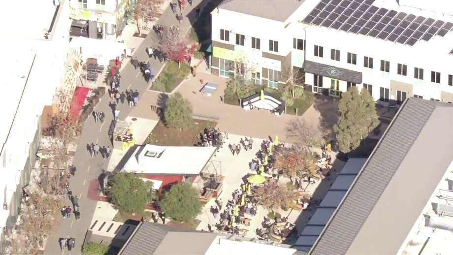 A bomb threat targeting Facebook's HQ in Menlo Park was reported on Thursday, according to authorities. Photo: KTVU