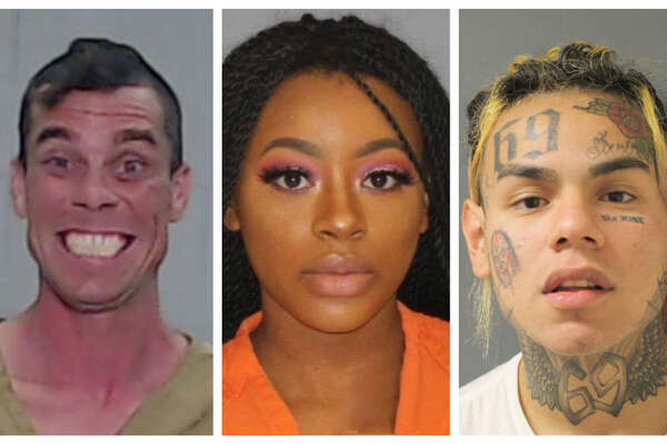 PHOTOS: Unusual Texas mugshots of 2018 Celebrities, viral internet sensations and downright strange facial expressions made up the weirdest and most notable mugshots in Houston in 2018. >>> View the gallery to see more unusual booking photos