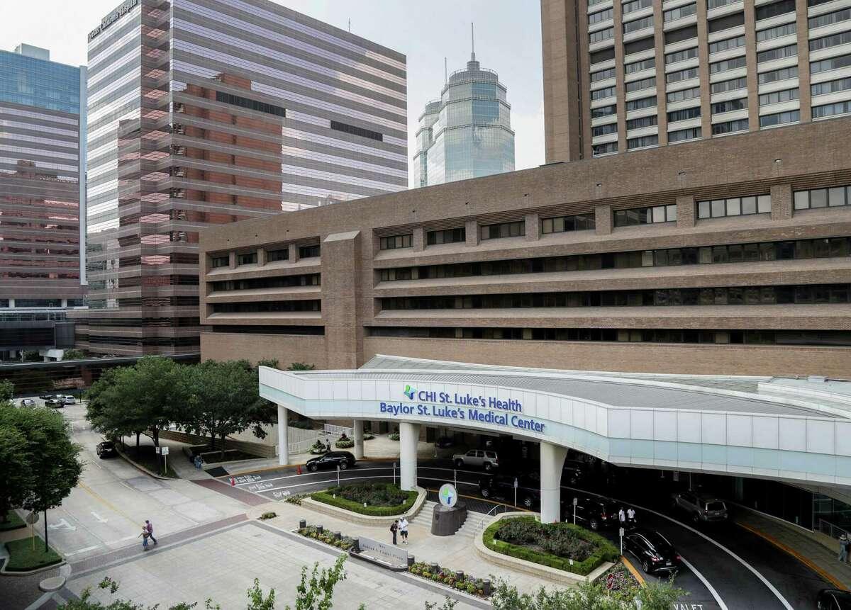 Baylor St. Luke's Medical Center is pictured Friday, June 1, 2018, in Houston.Baylor St. Luke's Medical Center has suspended it's heart transplant program for 14 days.( Jon Shapley / Houston Chronicle )