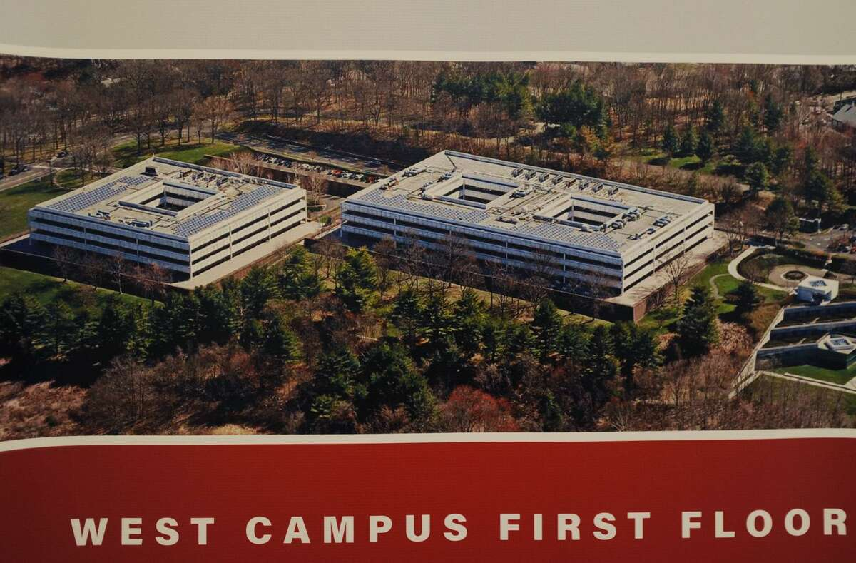 Sacred Heart University's new West Campus, the former GE headquarters, in Fairfield, Conn. on Wednesday, September 12, 2018.