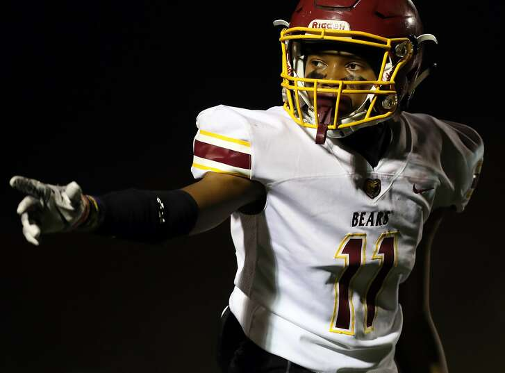 Menlo-Atherton wide receiver Troy Franklin is the No. 1 sophomore recruit in the country. He showed why in the NorCal finals at Eureka when he accounted for three touchdowns, including the game winner.