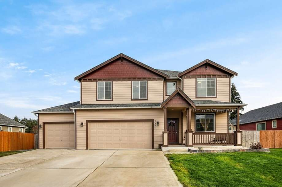 23711 81st Av Ct. E Graham, WA 98338, listed for $459,950. See the full listing below. Photo: Redfin Corp.