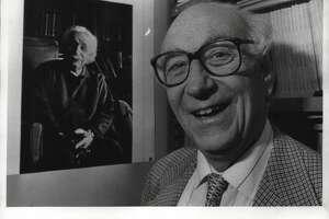 Heinrich Medicus, Physics Professor, Rensselaer Polytechnic Institute, Troy, New York. December 05, 1991 (Jack Madigan/Times Union Archive)