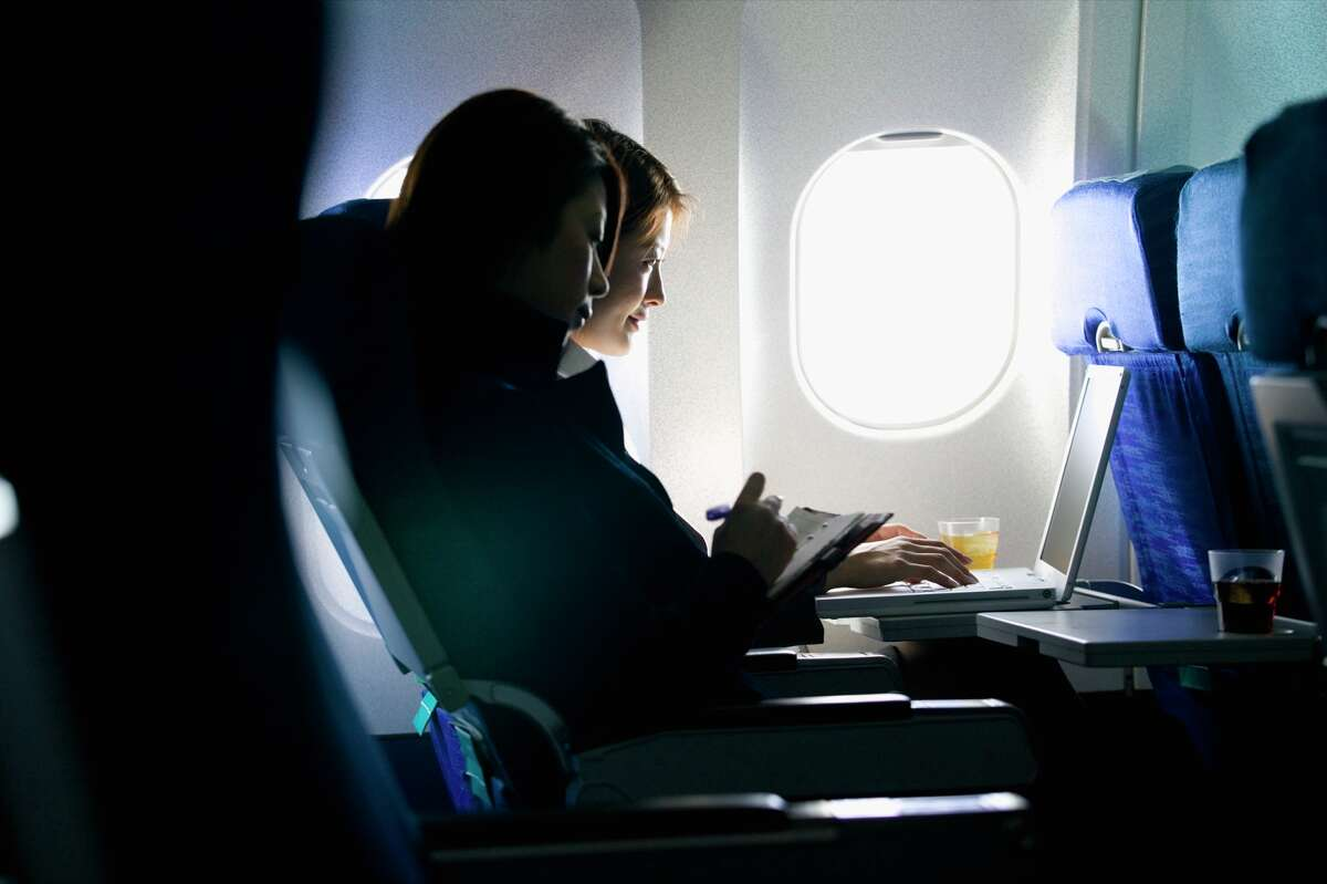 Consider booking a window seat. You'll have less contact with potentially contagious travelers and flight crew members.