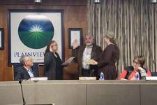 New councilmember Evan Weiss took the oath of office Tuesday night during the regular City Council meeting.