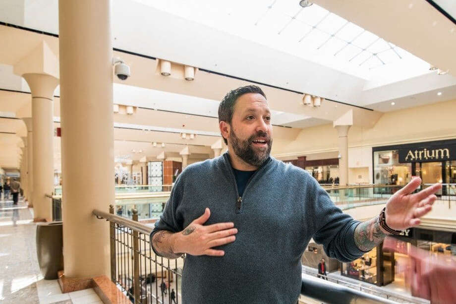 Mike Isabella in 2015 at the site of the now-closed Isabella Eatery at Tysons Galleria in Virginia. Photo: Photo By Dixie D. Vereen For The Washington Post. / The Washington Post