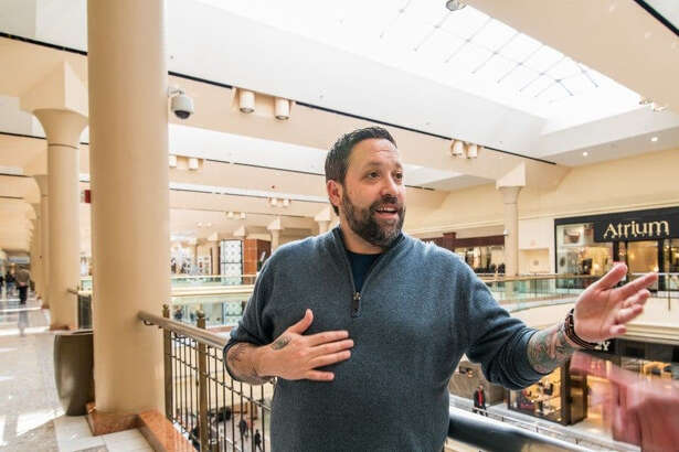 Mike Isabella in 2015 at the site of the now-closed Isabella Eatery at Tysons Galleria in Virginia.