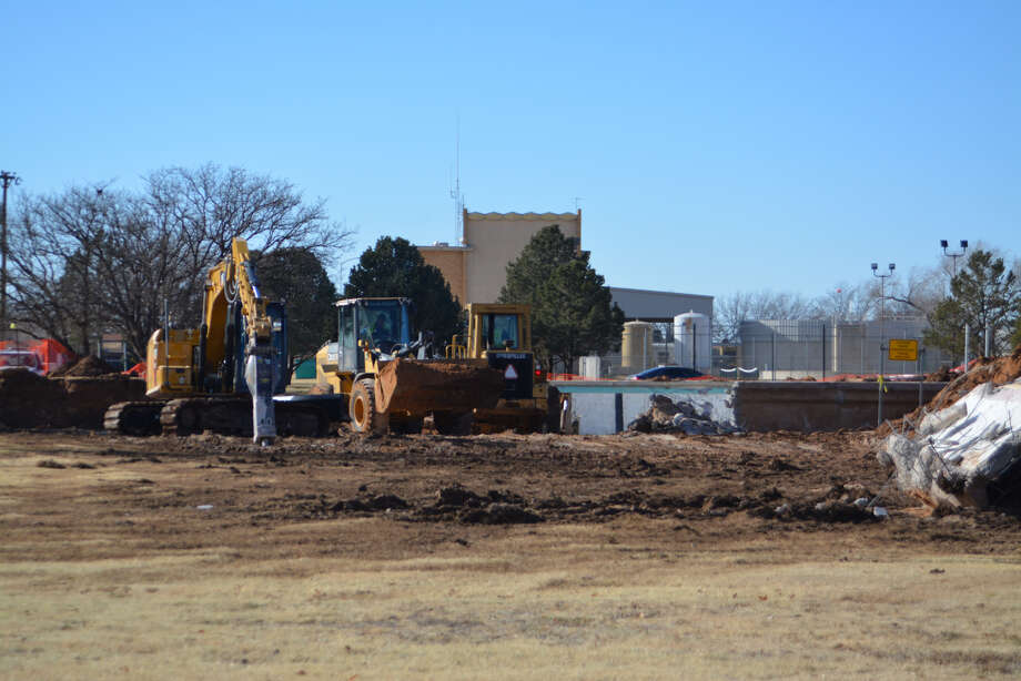 The Plainview City Council on Tuesday voted to approve a construction bid for the aquatic center that came in overbudget. Photo: Alexis Cubit/Plainview Herald