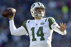 Rookie QB Sam Darnold returned from an ankle injury last week to start for the Jets, who ended a six-game losing streak with a win over the Bills. The third overall selection in this year's draft, Darnold has thrown 12 touchdown passes and 15 interceptions en route to a 69.5 rating.