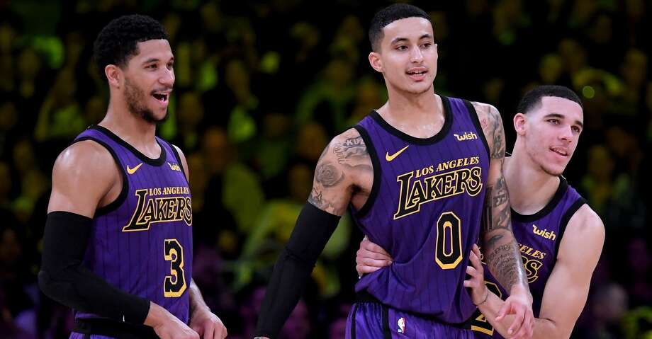 3c7ede79904 Lakers hesitant to trade young core players - San Antonio Express-News