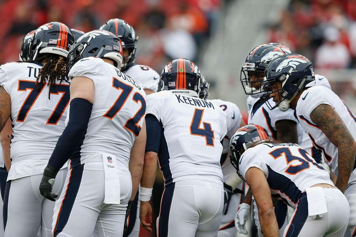 Cleveland plus-2½ at Denver Broncos 20-19