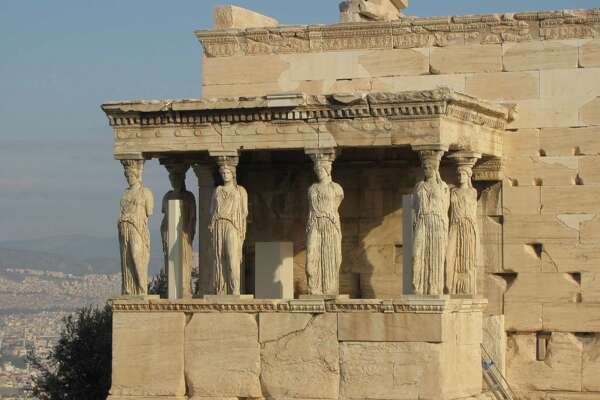 From Linda and Drew Holcomb of Pittstown: The Erechtheion at the Acropolis, Athens, Greece, taken in 2015.