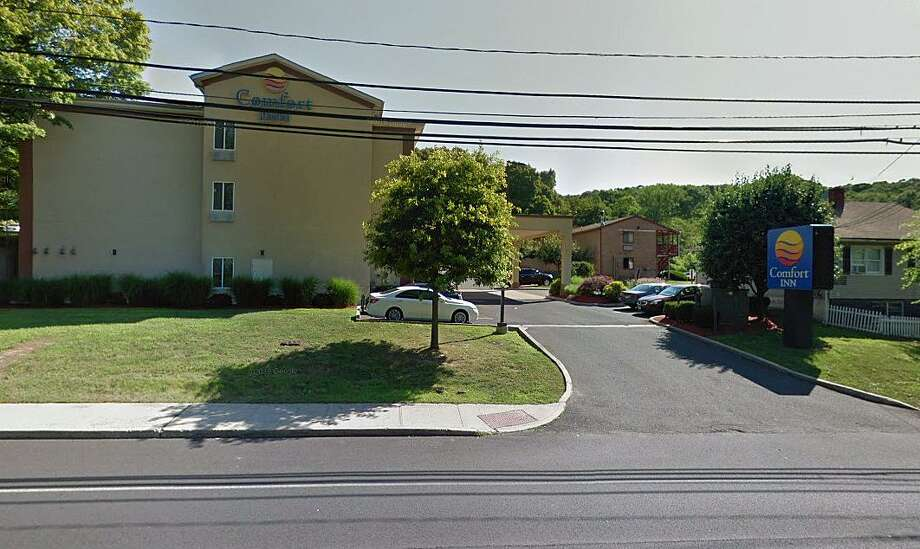 A screenshot of the Comfort Inn on New Haven Road in Naugatuck, Conn. Photo: Contributed Photo / Google Maps / Contributed Photo / Connecticut Post Contributed