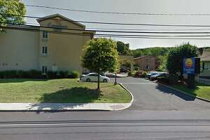 A screenshot of the Comfort Inn on New Haven Road in Naugatuck, Conn.