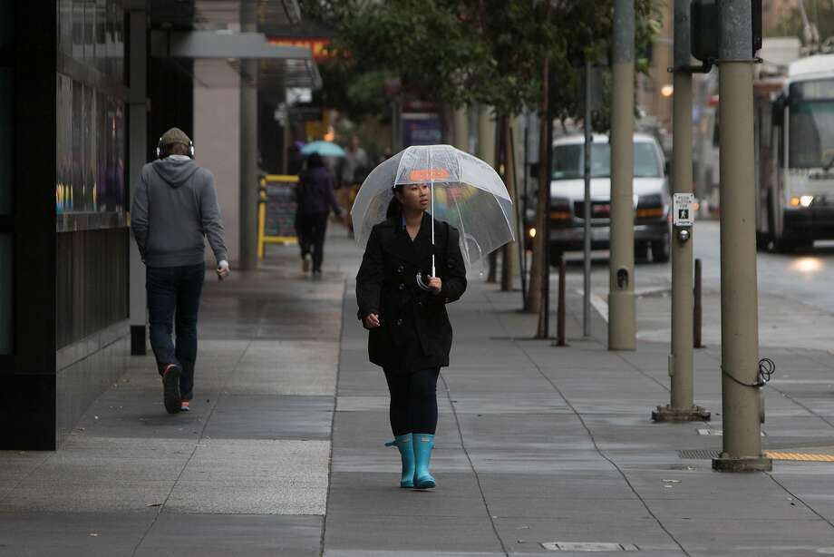 Here's how much rain fell around the Bay Area in the past 24 hours