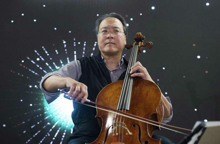 Classical music star Yo-Yo Ma is bringing his Bach Project to San Antonio. Photo: Graham Hughes /Associated Press / The Canadian Press