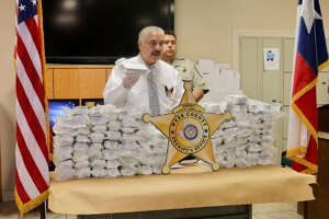 Sheriff Martin Cuellar talks about a narcotics operation that yielded several arrests and about 115 pounds of marijuana.