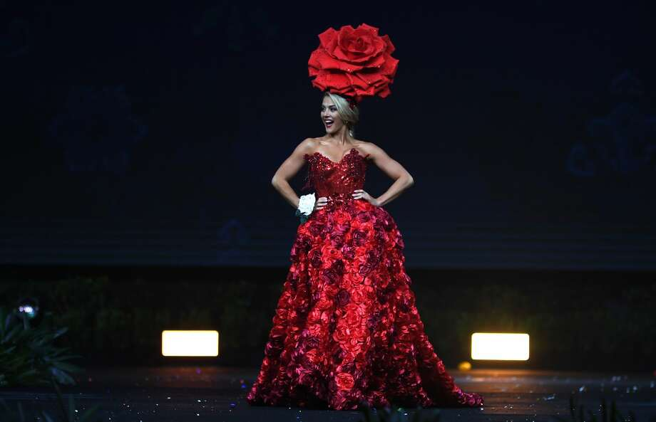 A new Miss Universe will be crowned on Sunday.Among the roster of contestants vying for the crown is Miss USA 2018 Sarah Rose Summers. (Photo: LILLIAN SUWANRUMPHA/AFP/Getty Images)>>>For seven things to know about the 24-year-old. check out the gallery above.  Photo: LILLIAN SUWANRUMPHA/AFP/Getty Images