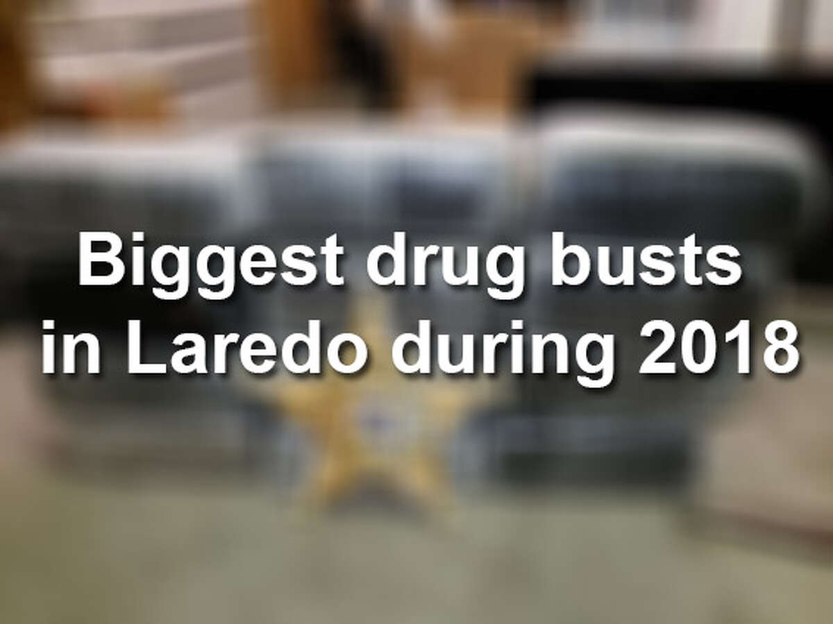 From Xanax pills to meth, see the biggest drug busts that have occurred in Laredo this year.