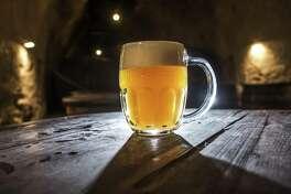 A beer mug.