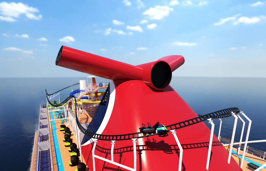 A ride on a ride: the coaster will reach speeds of nearly 40 MPH. >>>See where you can sail to from Galveston. Photo: Courtesy /