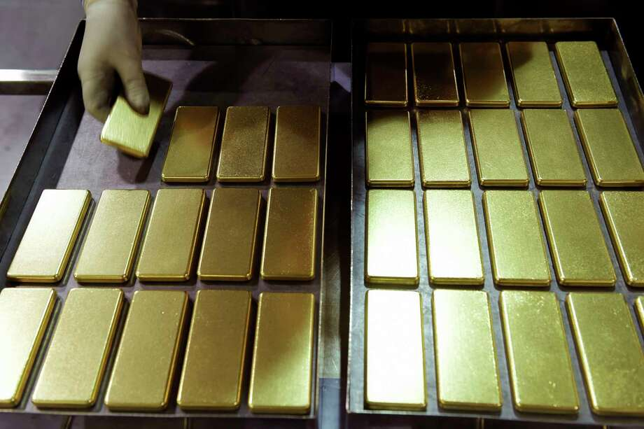One kilogram gold bars at the Perth Mint Refinery, operated by Gold Corp., in Perth, Australia, on Aug. 9, 2018. Photo: Bloomberg Photo By Carla Gottgens. / © 2018 Bloomberg Finance LP