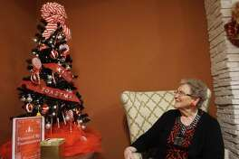 Judy Crowell, a resident of Watercrest at Kingwood, said this tree caught her attention due to her affinity for sweet treats.