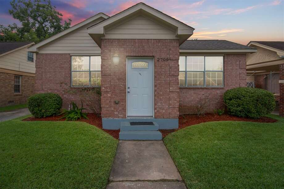 In Houston, the median home price is about $295,000, according to Zillow. Here are several homes at that price. 2706 Barbee St.
