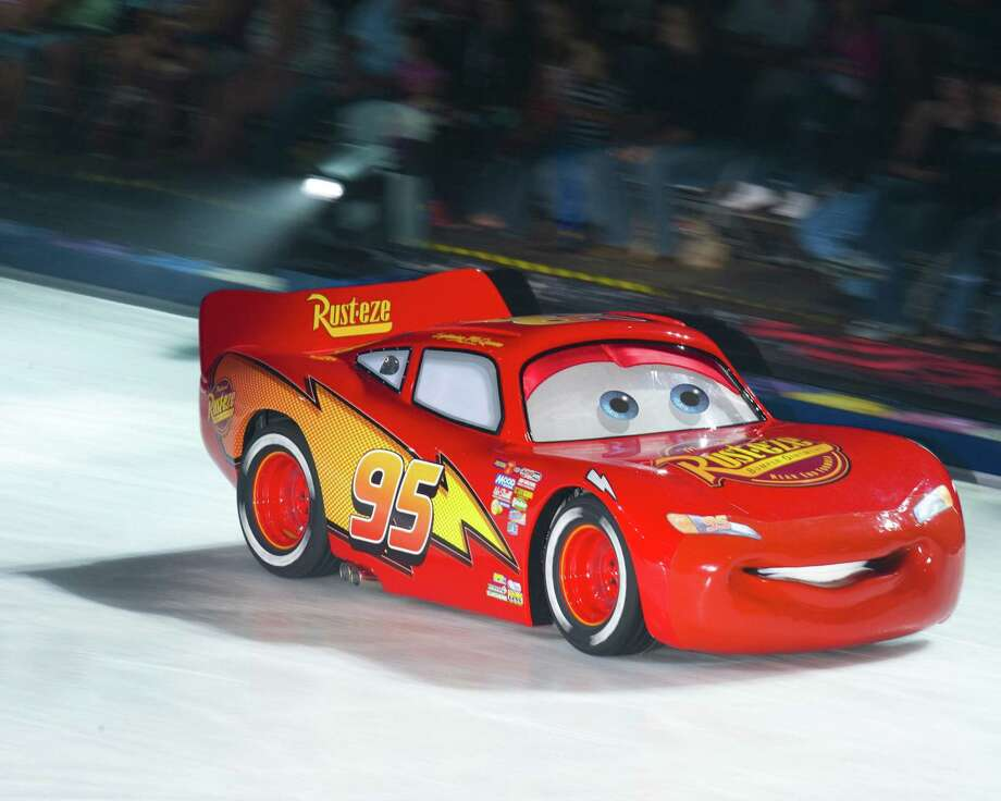 "Disney on Ice's ""Worlds of Wonder,"" featuring Disney Pixar's ""Cars,"" is at Bridgeport's Webster Bank Arena Dec. 3-6, followed by a stop at Hartford's XL Center Jan. 10-13. Photo: Disney On Ice / Contributed Photo / Connecticut Post Contributed"
