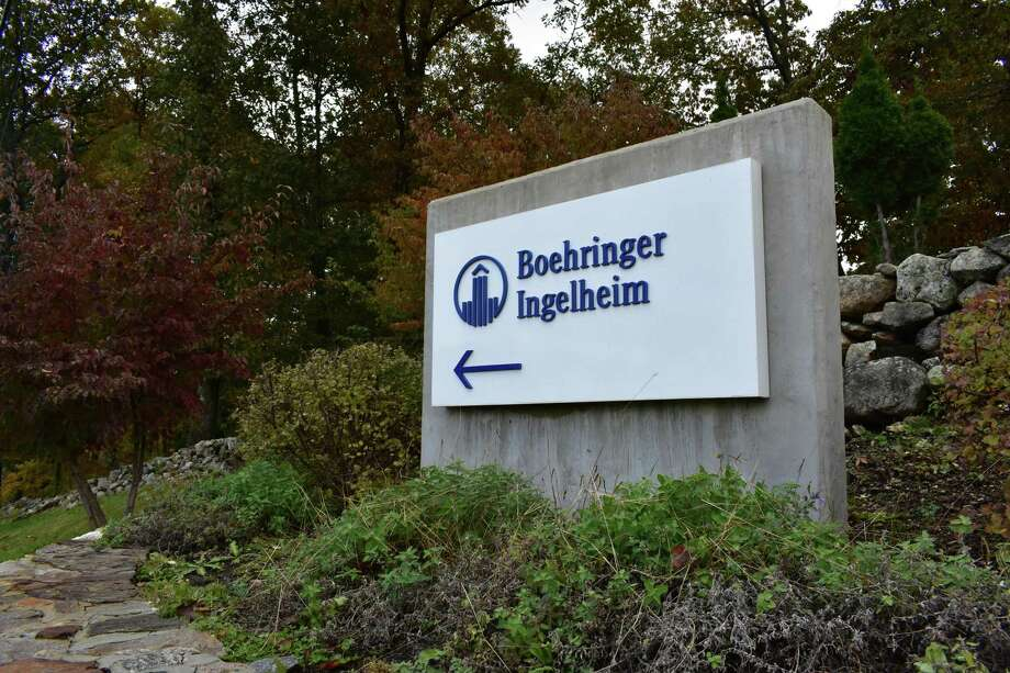 Boehringer Ingelheim Pharmaceuticals' headquarters campus in Ridgefield, Conn., in October 2018. Photo: Alexander Soule / Hearst Connecticut Media / Stamford Advocate